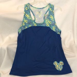 Disney Parks Athletic Mickey Mouse Tank